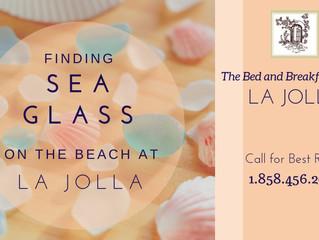 Finding Sea Glass on the Beach at La Jolla