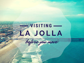 Visiting La Jolla Before You Move