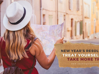 New Year's Resolutions - Treat Yourself and Take More Trips