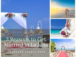 3 Reasons to Get Married in La Jolla