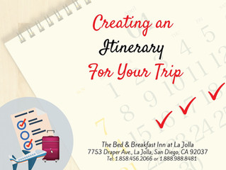 Creating an Itinerary For Your Trip