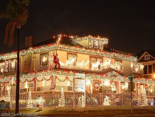 Where to Find Christmas Lights in San Diego