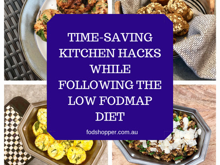 Time-Saving Kitchen Hacks While Following the Low FODMAP Diet