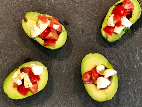 Summer Entertaining Recipe: Avocado-Mozzarella-Tomato Boats