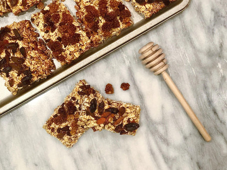 Homemade Oat and Honey Energy Bars