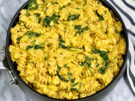 Fall Pasta In A Creamy Butternut Squash Sauce