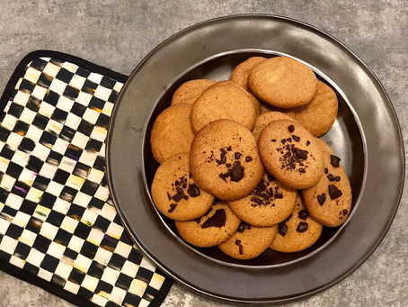 5 Ingredient Flourless Peanut Butter Cookies