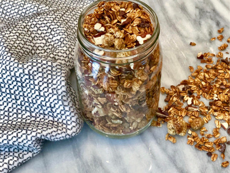 Honey Cinnamon Granola
