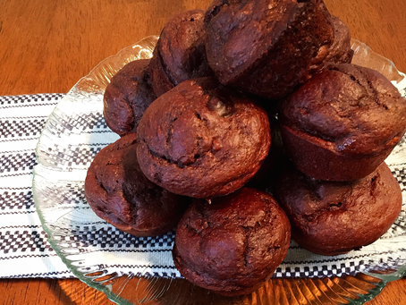 You'll Go Nuts For These Chocolate Banana Walnut Muffins