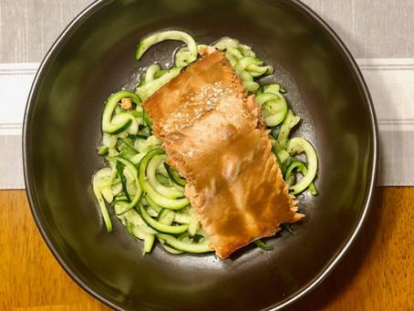Easy Mustard Baked Salmon