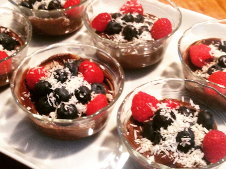 Stay Cool With This Summertime Dessert: Chilled Chocolate Avocado Mousse!