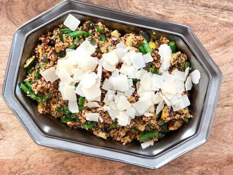 FODMAP-Friendly Quinoa with Roasted Veggies