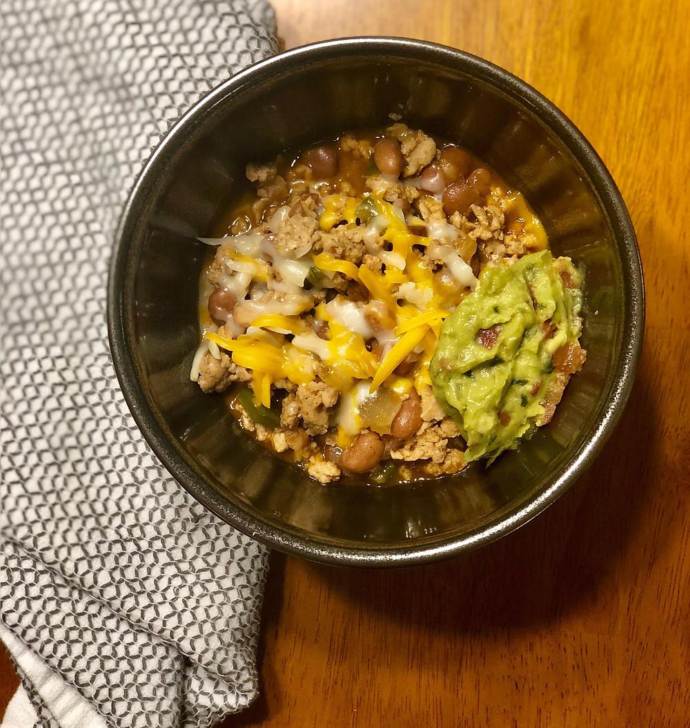 simple homemade chicken chili