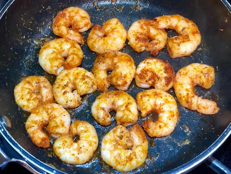 Simple Smoky Sautéed Shrimp
