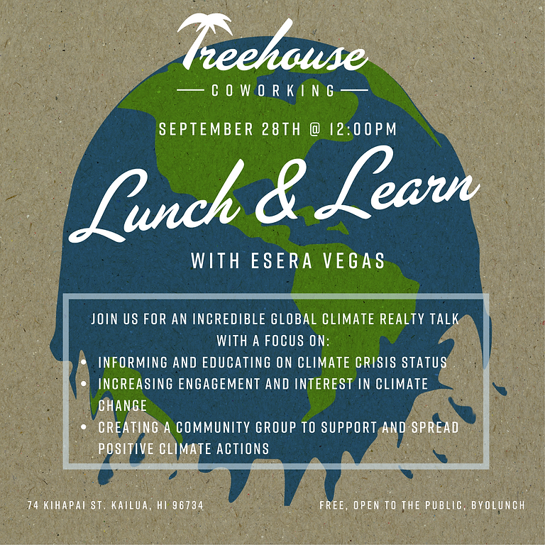 Lunch & Learn with Esera Vegas