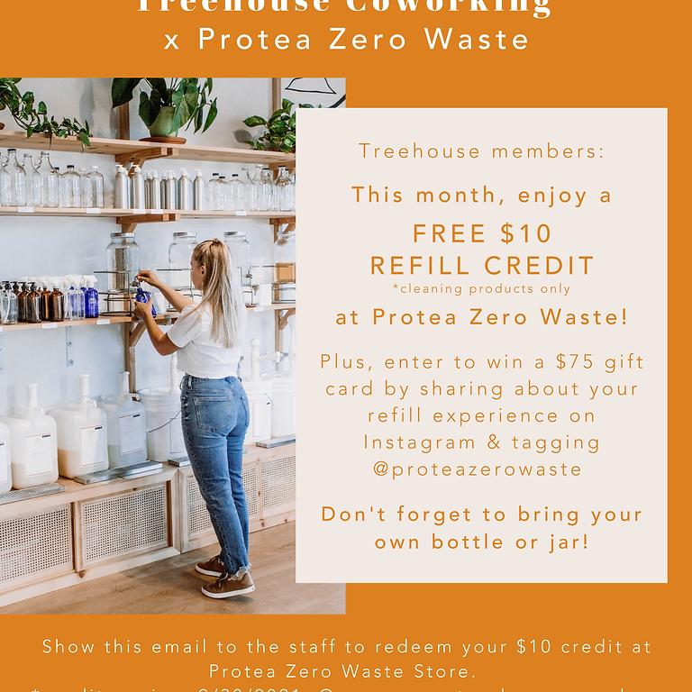 Protea Zero Waste Coupon and Raffle