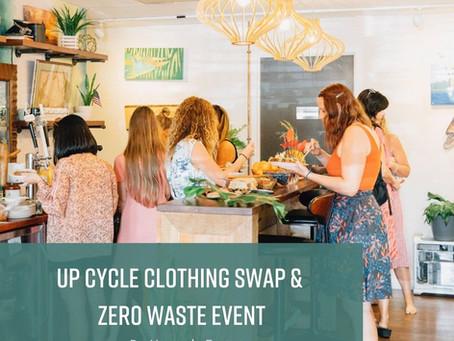 UpCycle Clothing Swap and Zero Waste Event Recap