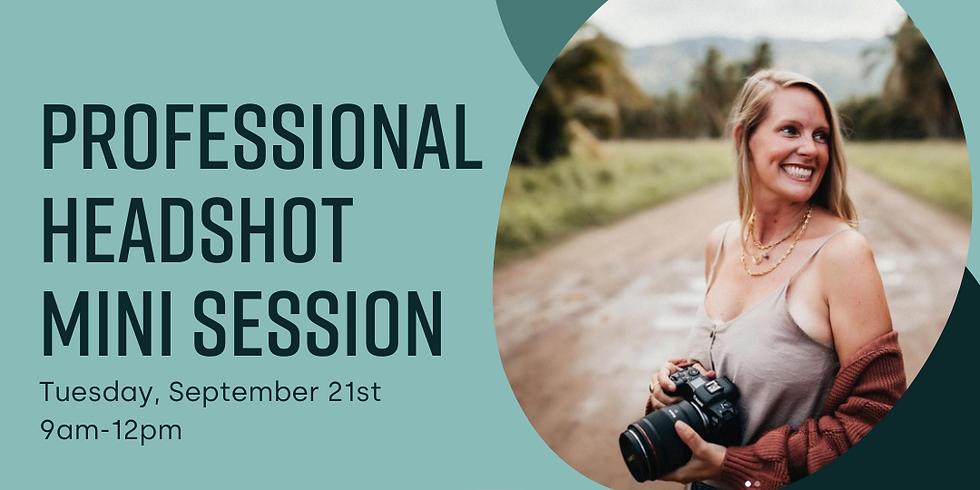 Professional Headshot Mini Session