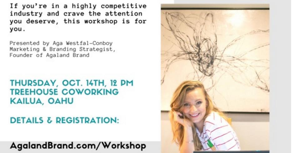 Marketing Workshop with Aga-Westfal-Conboy