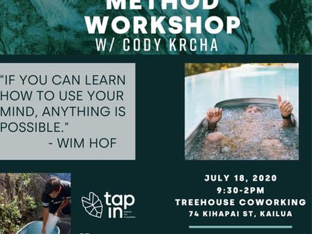 Wim Hof Meditation Event and Techique