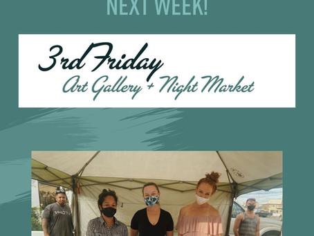 Third Friday Art Gallery + Night Market | February