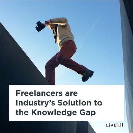 Freelancers are Industry's Solution to the Knowledge Gap