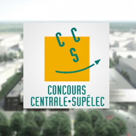 Les limites de classement du concours CentraleSupelec sont disponibles !