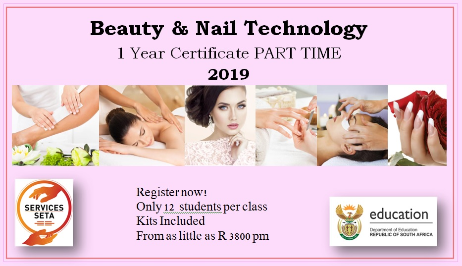 Beauty and Nail Technology Part Time 201