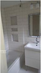 Bathroom renovation-Troy - White subway