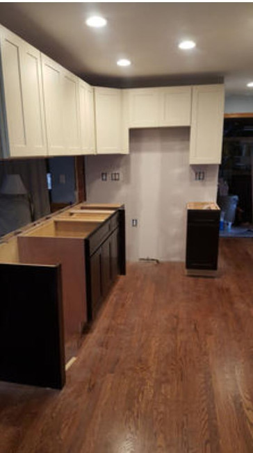Kitchen remodel in progress - Troy.JPG
