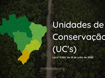 Unidades de Conservação (UC's)