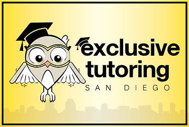 exclusive tutoring san diego banner logo sign. Owl. college coach, high school tutoring. Exclusive Tutoring San Diego has been providing the premier private education coaching & tutoring service in sunny San Diego, California.  By providing an interactive and engaging environment, combined with the best educational services and tools, we have helped various students improve upon the challenges they are faced with – from overcoming academic obstacles to early college application planning and organization.