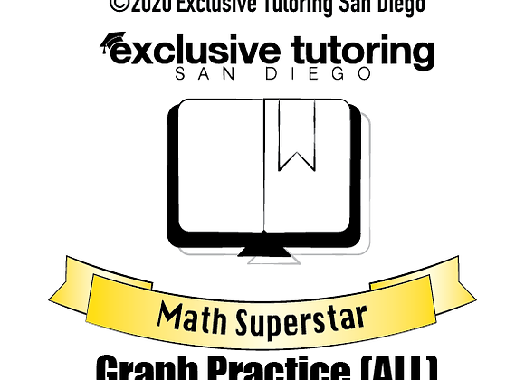Math Superstar Graph Practice (All Levels)
