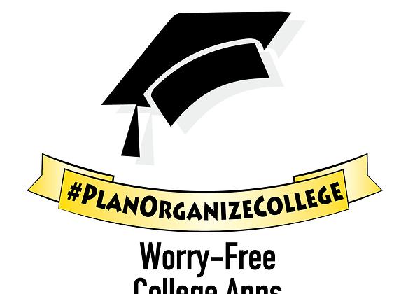 #PlanOrganizeCollege Checklist