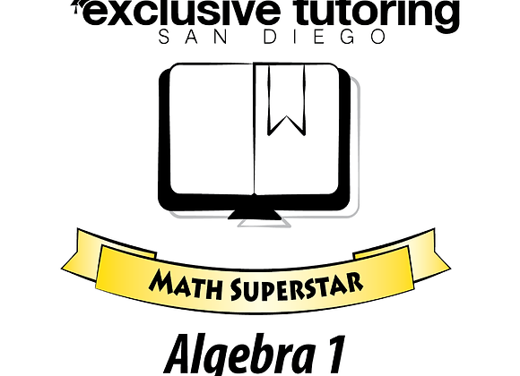 Algebra 1 Math Superstar Study Guide