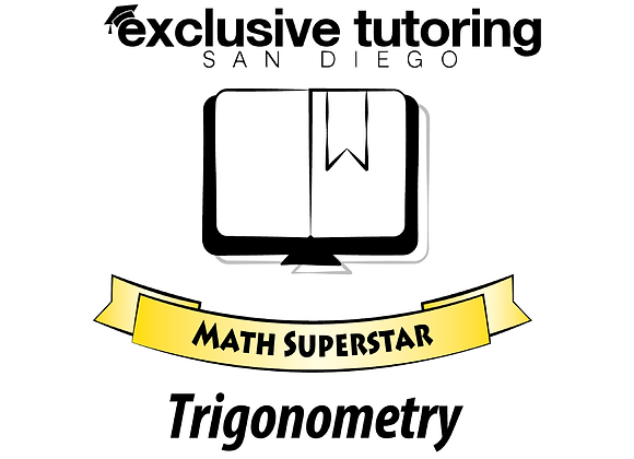Trigonometry Math Superstar Study Guide