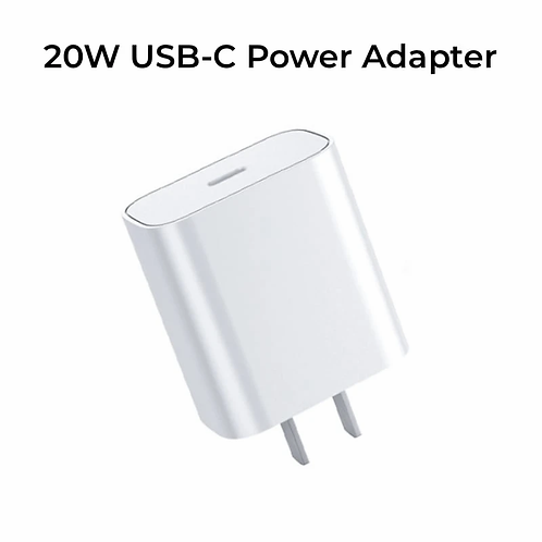 20W iPhone USB-C Power Adapter
