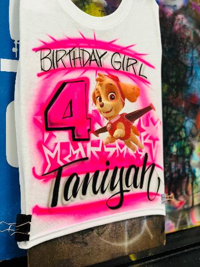 Paw Patrol Birthday Party Invite