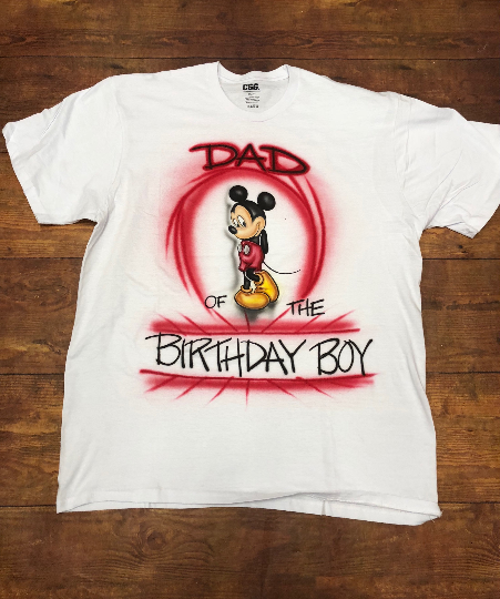 Mickey Mouse Birthday Shirt Disney Clubhouse