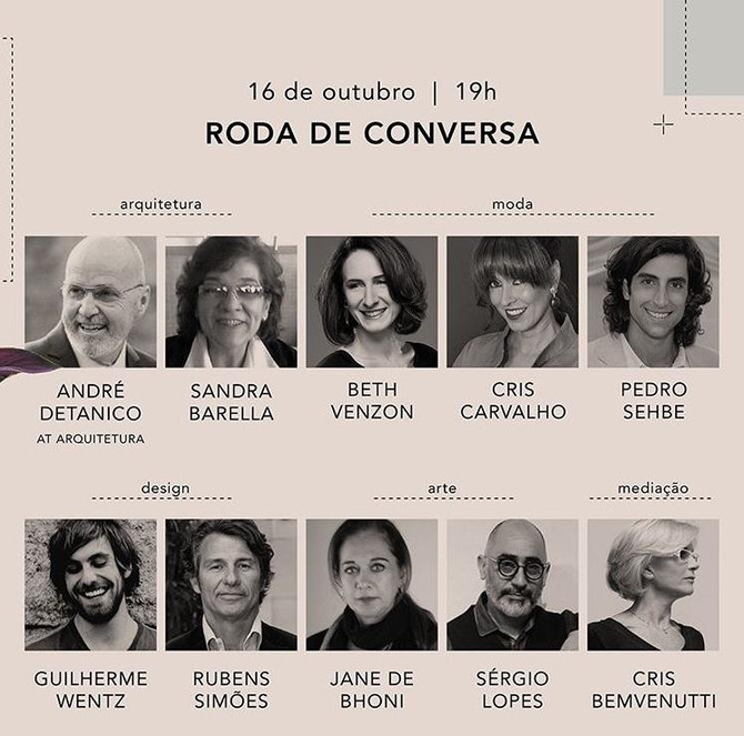 Cris Bemvenutti participa como mediadora do evento MORAR - VESTIR  / RS