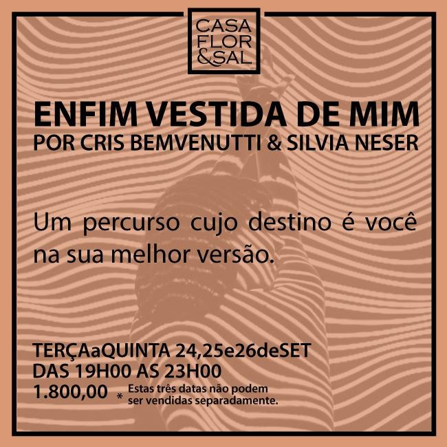 Cris Bemvenutti na Casa Flor & Sal em São Paulo