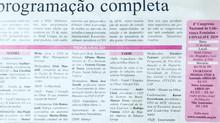 Cris volta a aparecer no jornal Estado de São Paulo