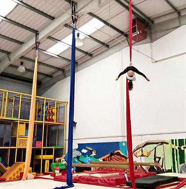 Aerial Silks Classes London AGL