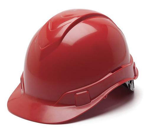 Pyramex Ridgeline Cap Style Hard Hat, 4 or 6 Pt Ratchet Suspension