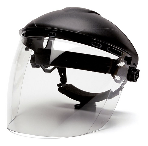 Pyramex Tapered Polycarbonate Face Shield