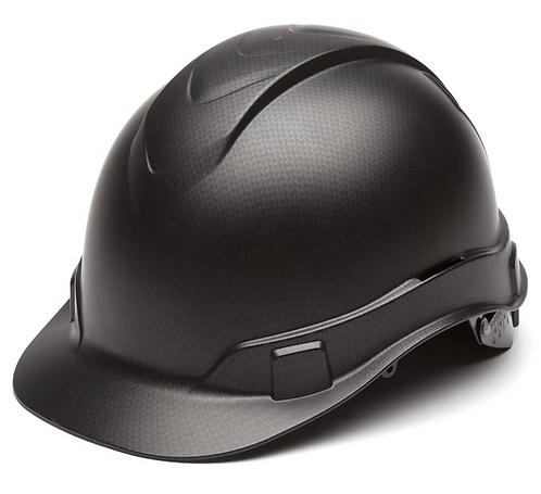 Pyramex Ridgeline Graphite Cap Style Hard Hat, 4 Point Ratchet
