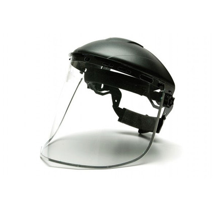 Pyramex Ridgeline Face Shield & Headgear Combo Kit