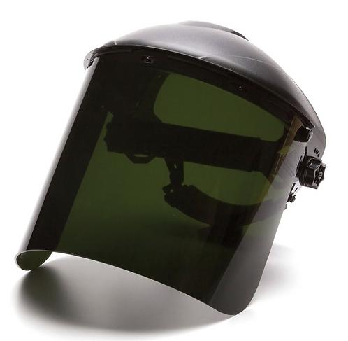 Pyramex Dark Green Cylinder Face Shield