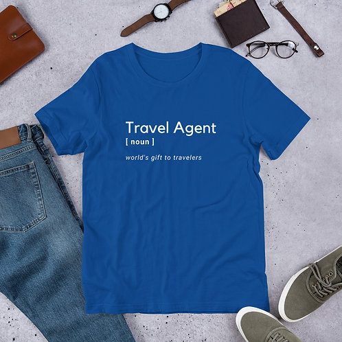 Travel Agent Short-Sleeve Unisex T-Shirt