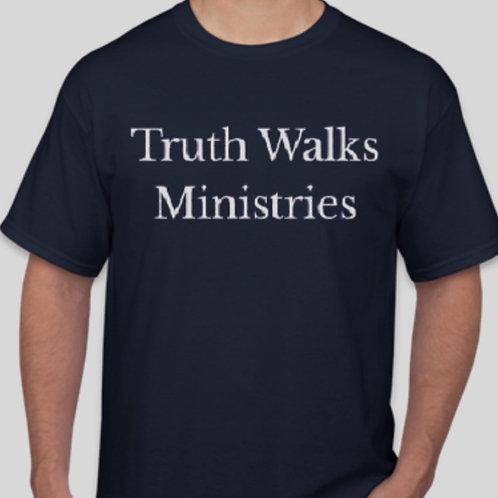 Truth Walks Ministries Staff Tee